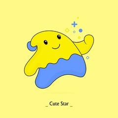 cute star yellow
