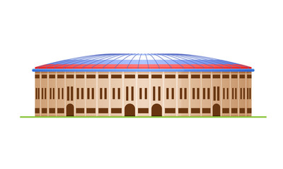 Sports stadium for football and sports arena.
