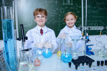 school children scientists