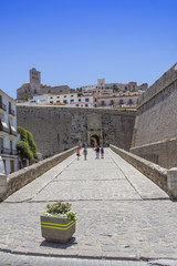 Entry to the Ibiza old town, called Dalt Vila