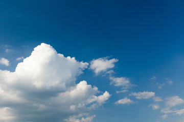 Sky and cloud, abstract heaven. Freedom background.