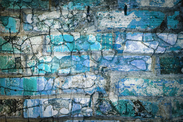 Original vintage abstract background from brick wall