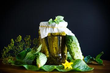 Pickled pickled cucumbers