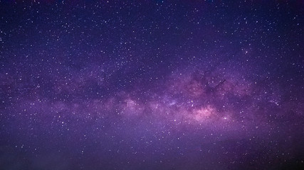 Milky Way Night sky with star.