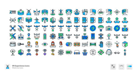 VR Experience icons