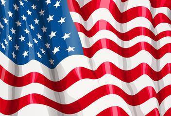 usa flag celebration