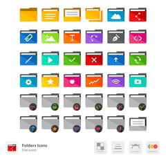 Folders icons