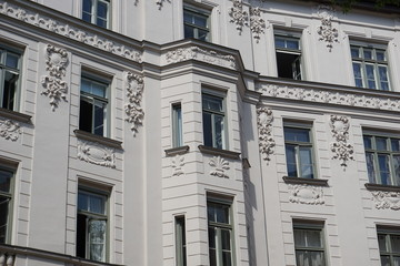 Detail Altbau Fassade München, Germany, Europe