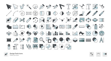 Design tools icons
