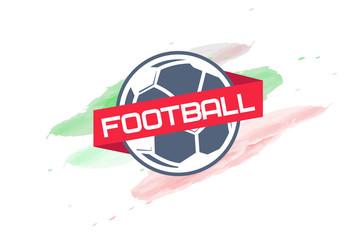 football logo. emblem. badge.