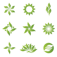 Logo Abstract Nature Icon