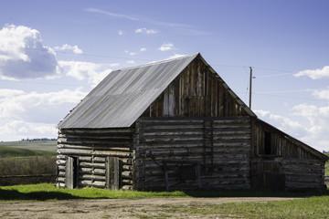 Historic Ranch Log Barn
