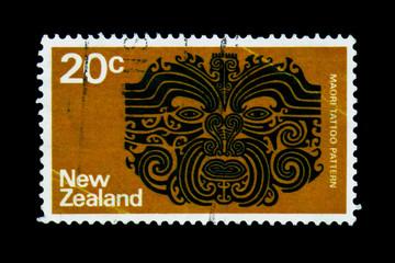 Maori Tattoo, Definitives serie, circa 1974
