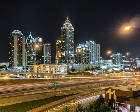 Atlanta skyline from Atlantic Station