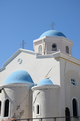 Kirche in Kos Stadt mit Erdbebenschaden