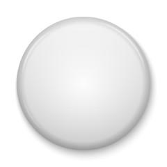 blank glossy badge