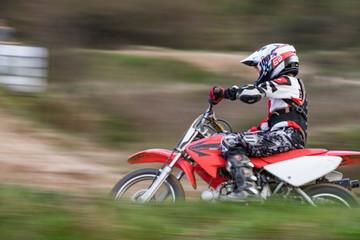 Girl motocross