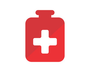 plus medical medical medicare pharmacy clinic image vector icon logo