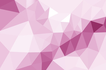 Pink gradient abstract geometric triangular polygon style. Graphic background. abstract polygon background.