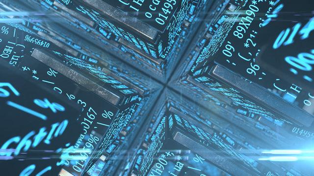 Bitcoin mining blockchian technology decentralized digital currency