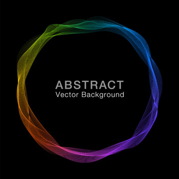 Abstract Rainbow Background #vector Graphics