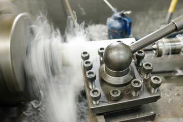 Lathes, machining