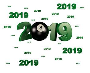 Many Billiard 8 Ball 2019 Designs