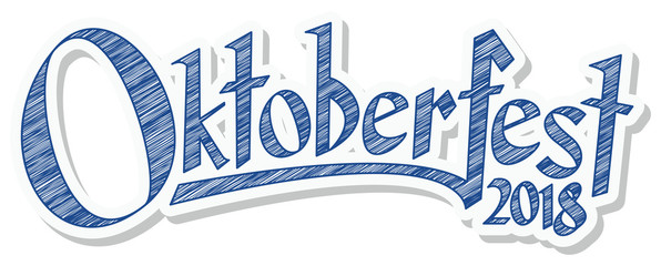 Header with text Oktoberfest 2018