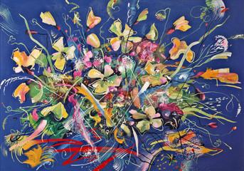 Art work. Polar poppies. Author: Nikolay Sivenkov.