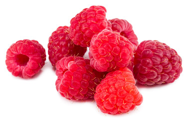 Raspberry. Raspberry isolated. Raspberry on white background