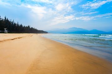 Beach near Danang city, Vietnam