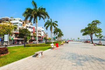 Riverside Park promenade, Phnom Penh