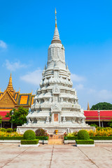 Royal Stupa in Phnom Penh