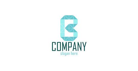 B logo abstract