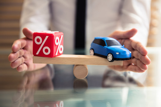 Protecting Balance Between Percentage Symbol And Car