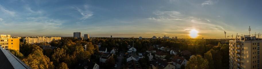 Munichs sunset
