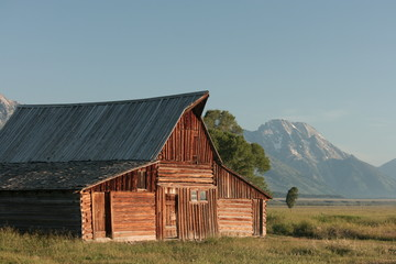 Barn around The Grand Teton National Park 3