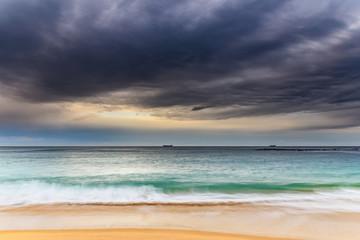 Overcast Morning Seascape