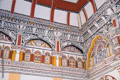 Painting in Durbar Hall, Thanjavur Maratha Palace, Tanjore