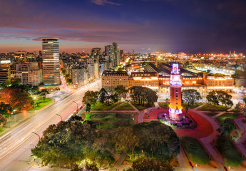 Türaufkleber Buenos Aires Buenos Aires Night