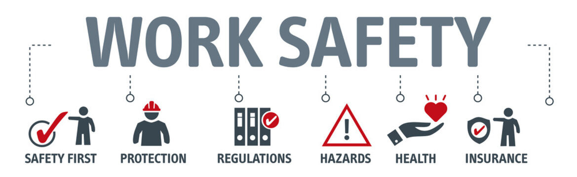 Banner Standard construction safety concept