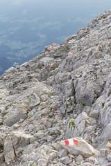 Wanderweg auf einem Gipfel