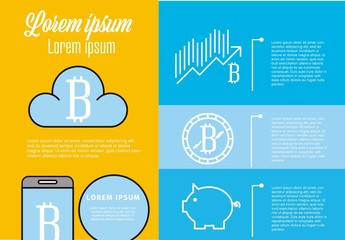 Bitcoin Infographic Layout