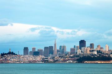Panoramic view of San Francisco, California, USA