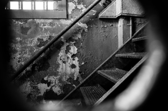 Alcatraz Prison Peephole