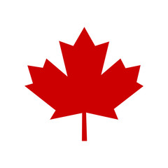 Canada leaf sign