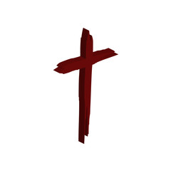 Cross brush icon