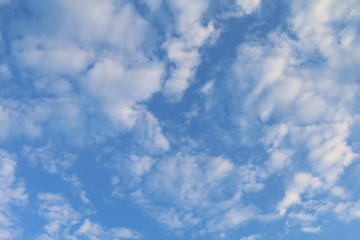 Sky background, Sky blue Beautiful background, Sky with clouds
