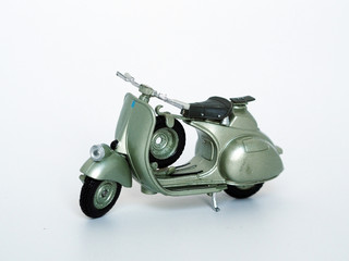 Miniature Scooter Motorbike close up shots