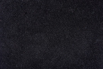 Black blank fabric background